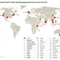 Top 30 thành phố năng động nhất thế giới