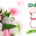 SNI Chúc Mừng Ngày Quốc Tế Phụ Nữ 08/03