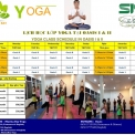 YOGA CLASS FOR THE OASIS RESIDENTS