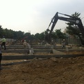 The Oasis I- Phase V has completed the foundation