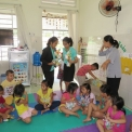 """PHOTOS ABOUT VISITING """"THE HOUSE OF MOTHER'S LOVE 2"""" OF SNI COMPANY"""