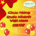 The Oasis chúc mừng Ngày Quốc Khánh Việt Nam!